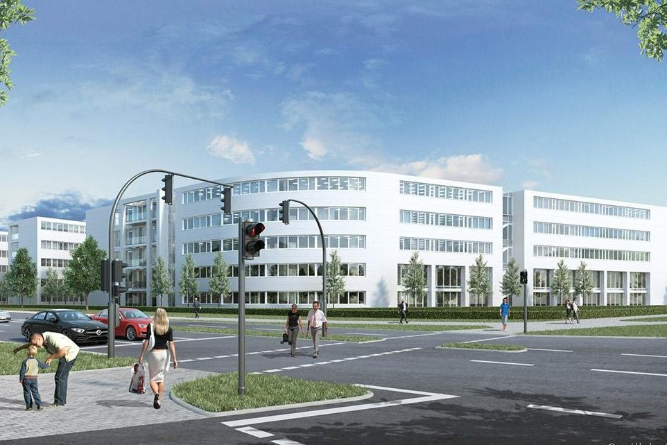 Neubau-Büroflächen in Paderborn zu vermieten