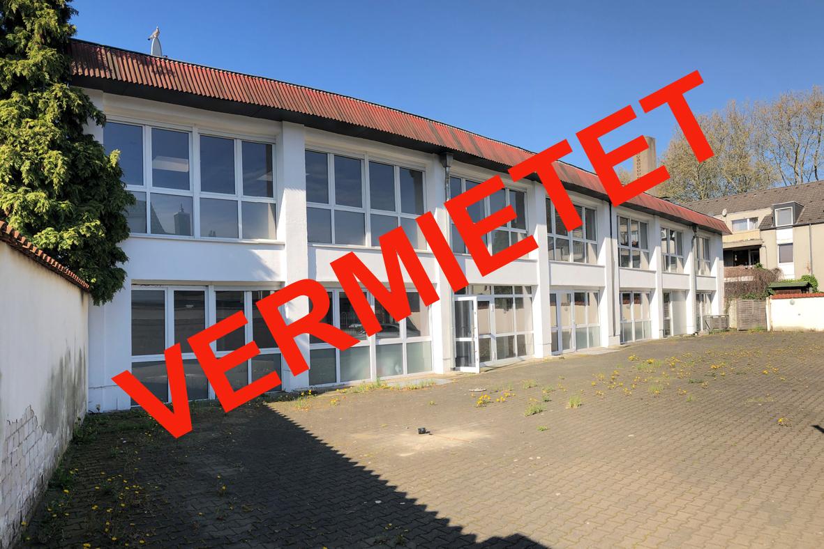 Gewerbefläche in Oberhausen vermietet