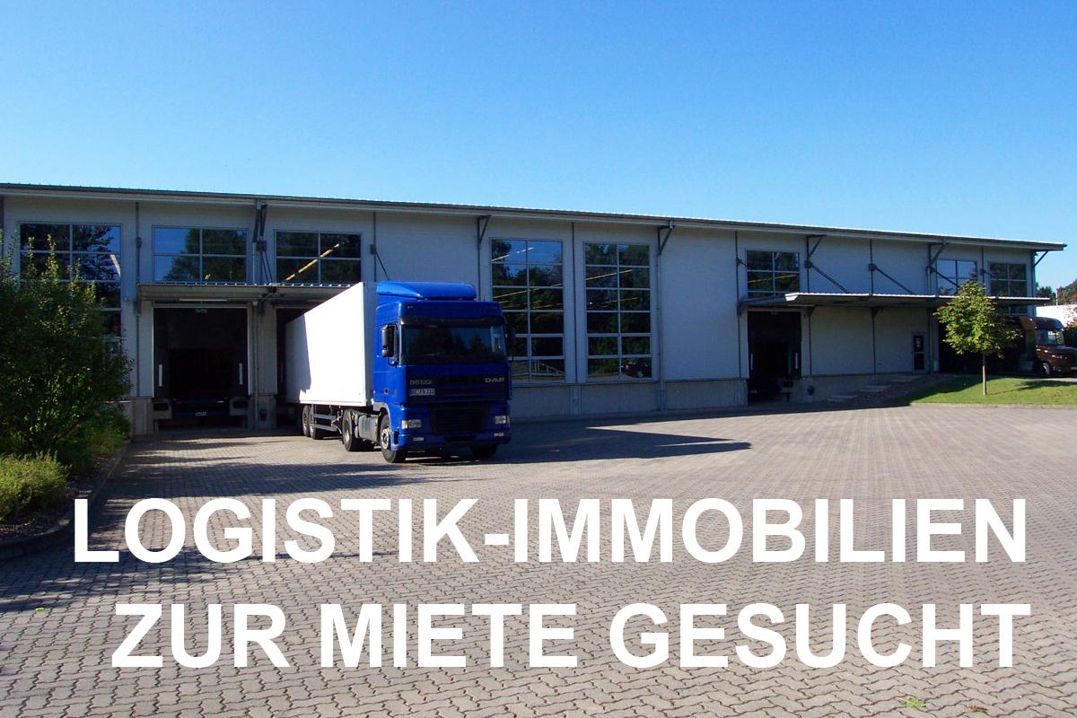Logistik-Immobilien zur Miete gesucht